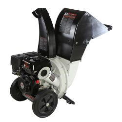 Brush Master 2.25-inch Dia 6.5 HP 208cc Feed, Versatile 3-in-1 Discharge Chute Chromium Chipper Shredder