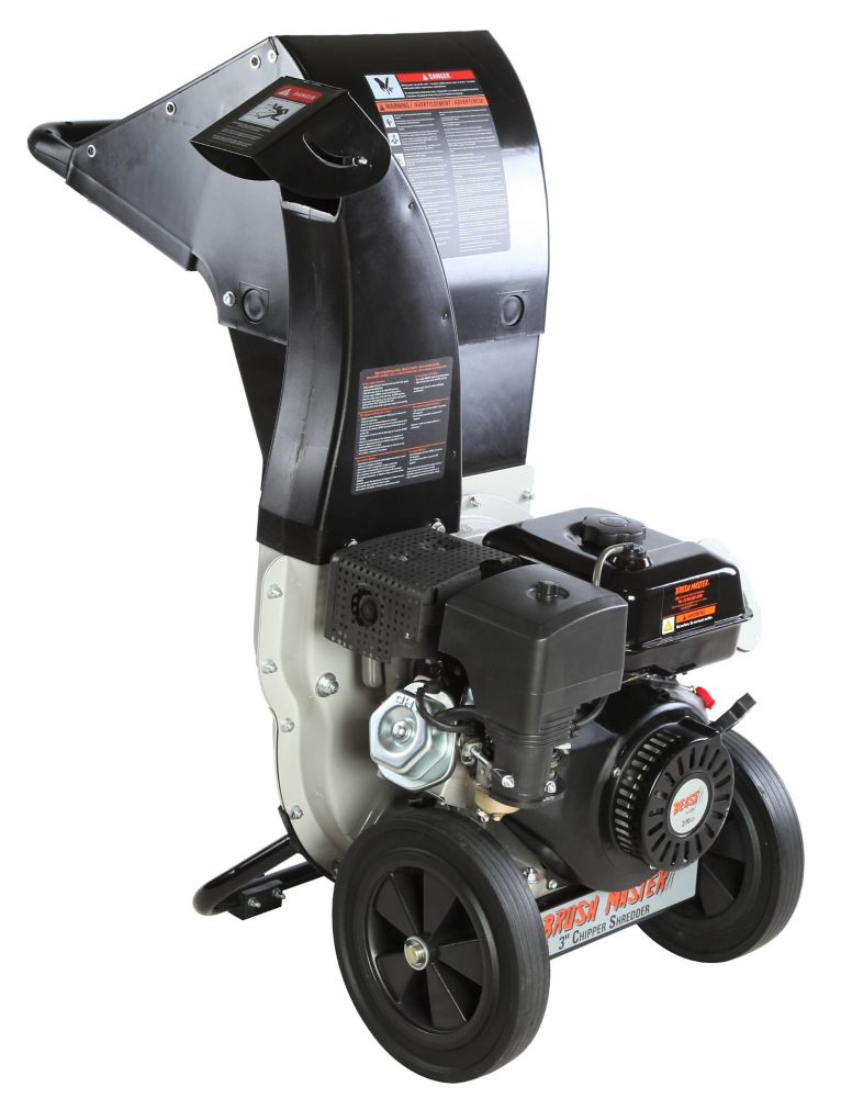 11-HP 270cc Chipper Shredder with 3-inch Diameter Feeder