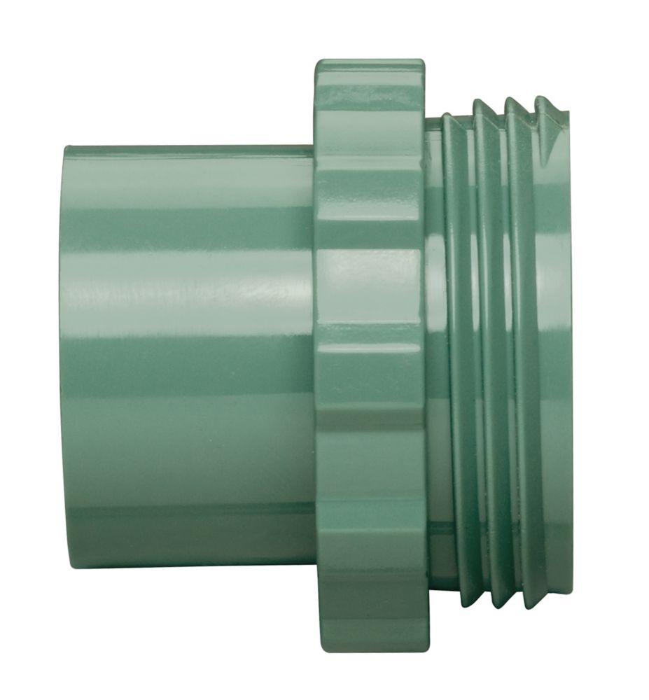 Adaptateur de transition en PVC