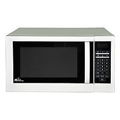 ... cu. ft. Countertop Microwave in White The Home Depot Canada