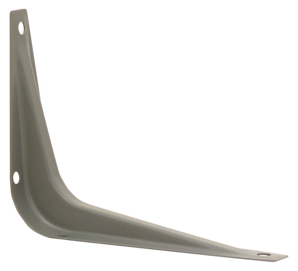 3 Inch X4 Inch  Grey Shelf Bracket