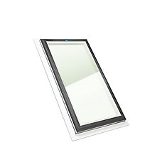 2 ft. x 4 ft. Fixed Self Flashing Clear Glass Skylight with Grey Cap