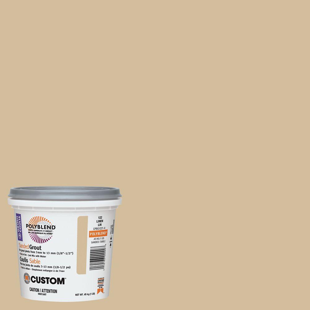 #122 Linen Non-Sanded Grout 1 Lb. CNSG1221-4 Canada Discount