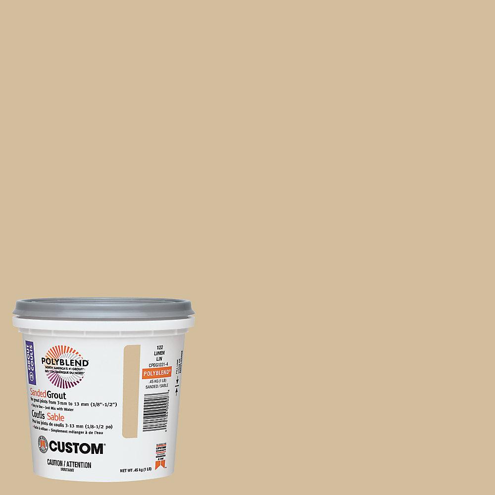 Coulis sans sable no 122 Lin (453 g)