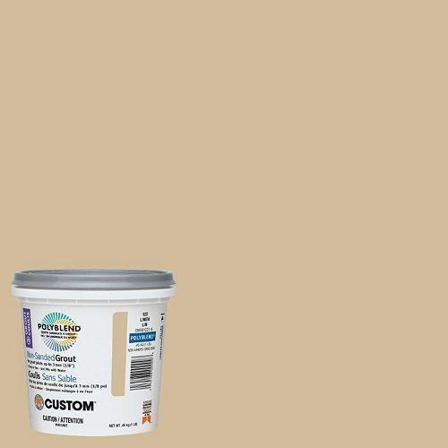 Custom Building Products #122 Linen Non-Sanded Grout 1 Lb.