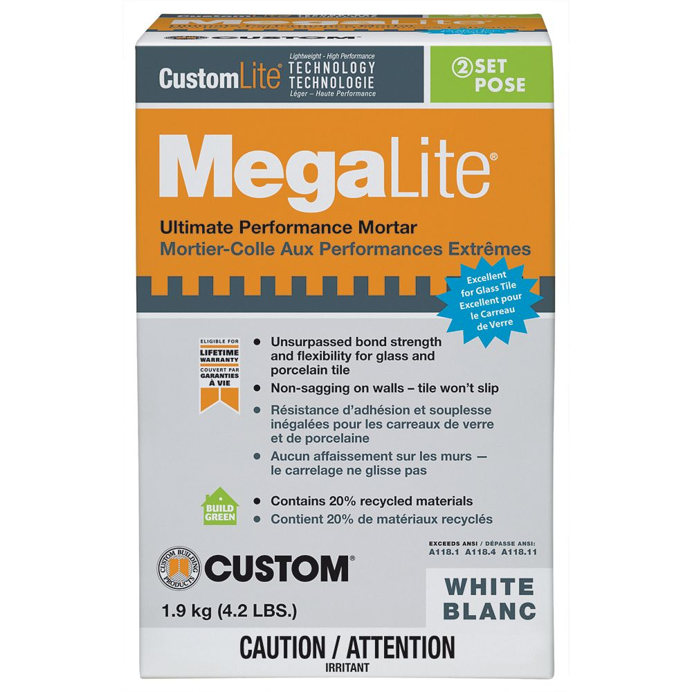 MegaLite Crack Prevention Mortar 4.2 Lb.