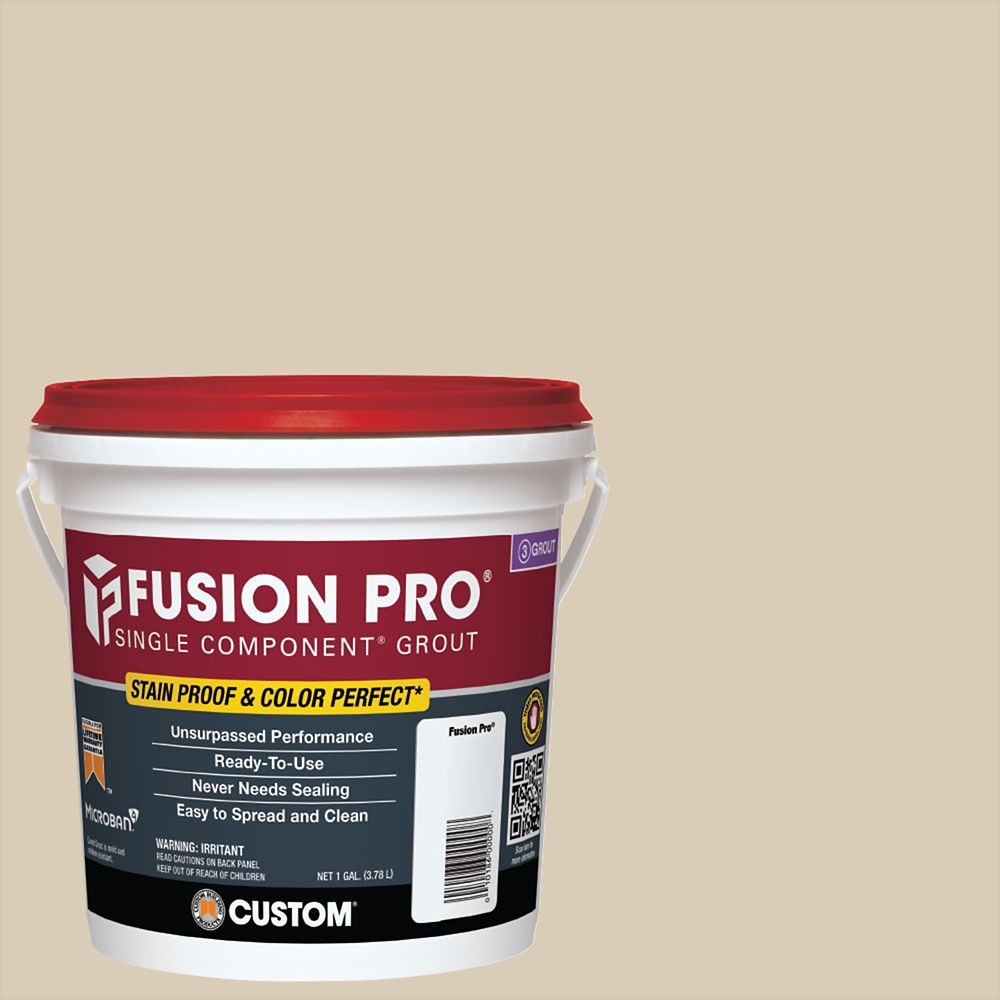 Custom Building Products #10 Antique White Fusion PRO - 1 Gal.