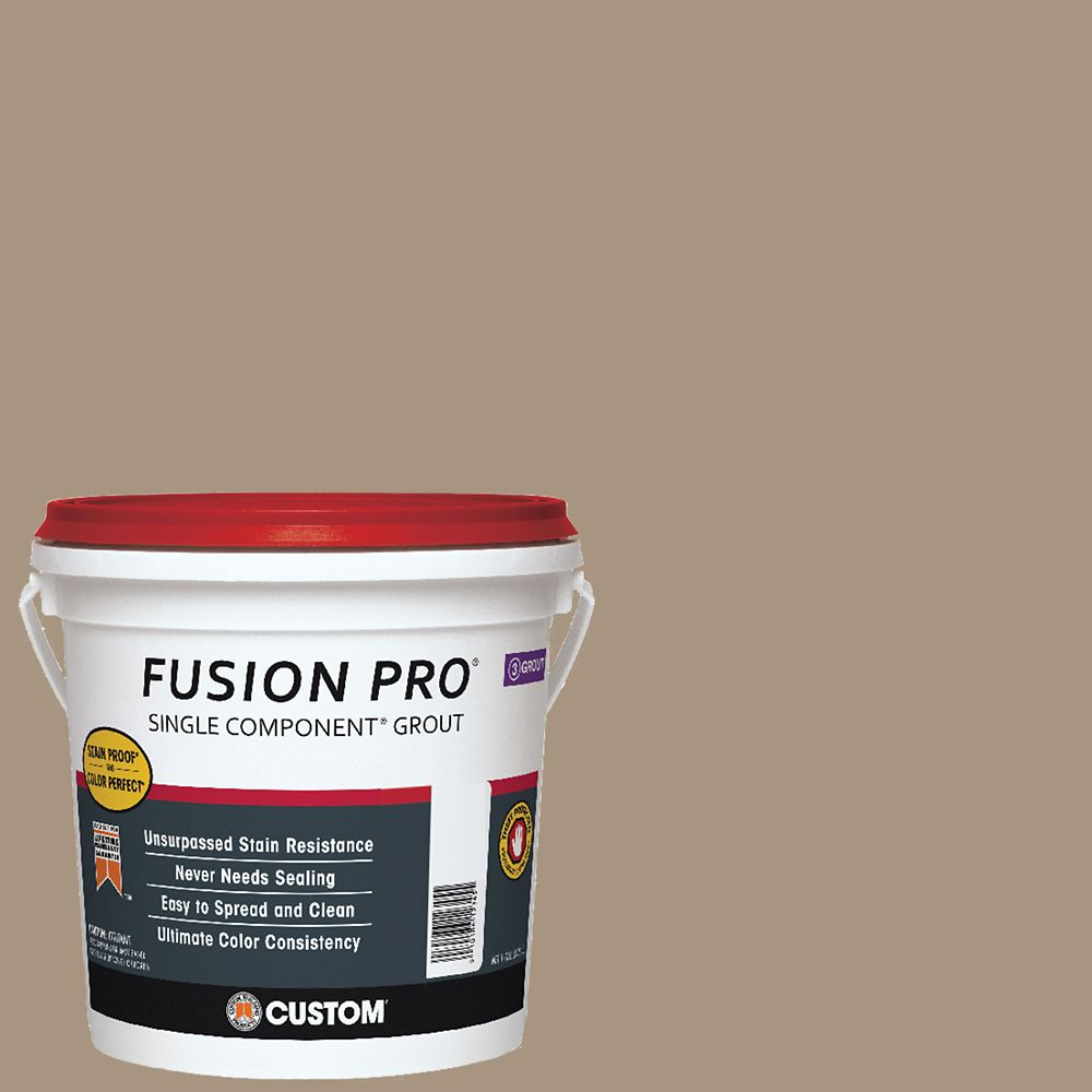 Custom Building Products #145 Light Smoke Fusion PRO - 1 Gal.