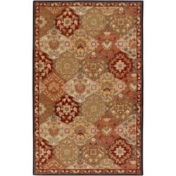 Artistic Weavers Abbaretz Red 10 ft. x 14 ft. Indoor Traditional Rectangular Area Rug