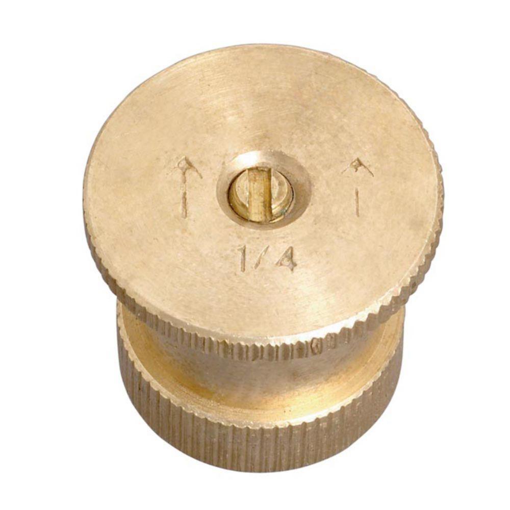 Brass Nozzle - Quarter