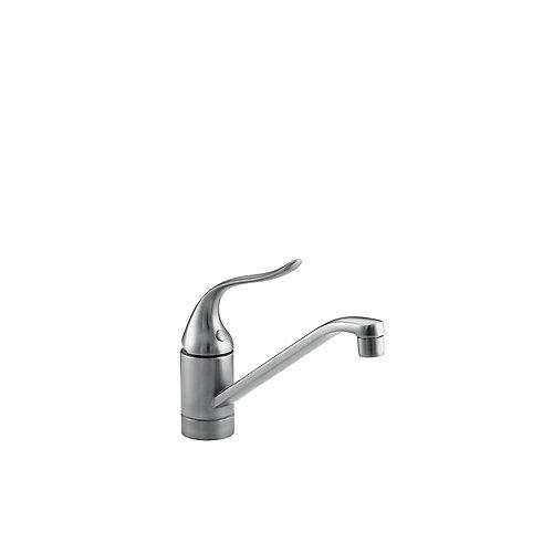 Coralais Single-Control Kitchen Sink Faucet With 8-1/2 Inch Spout And Lever Handle, Less Escutcheon