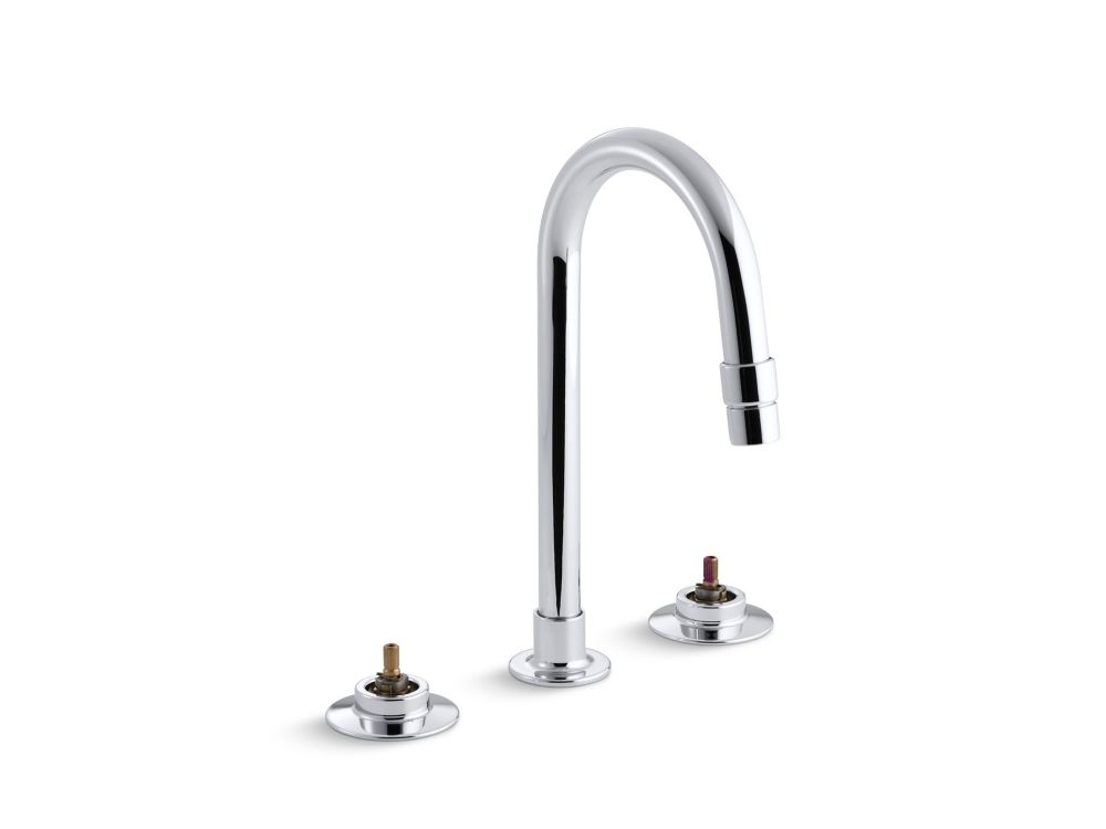 Triton Widespread Bathroom Faucet with Rigid Connections