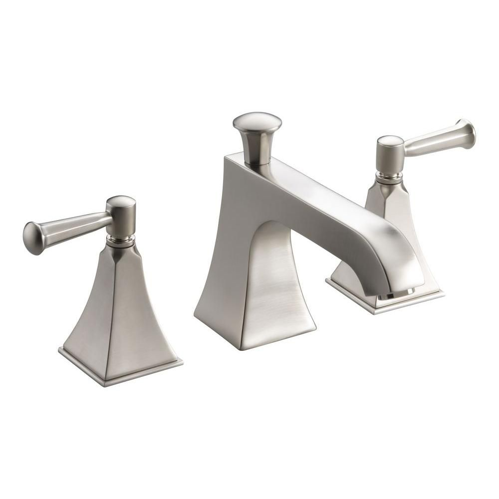 KOHLER Memoirs Bath or Deck-Mount High-Flow Tub Faucet with Lever Handles and Stately Design
