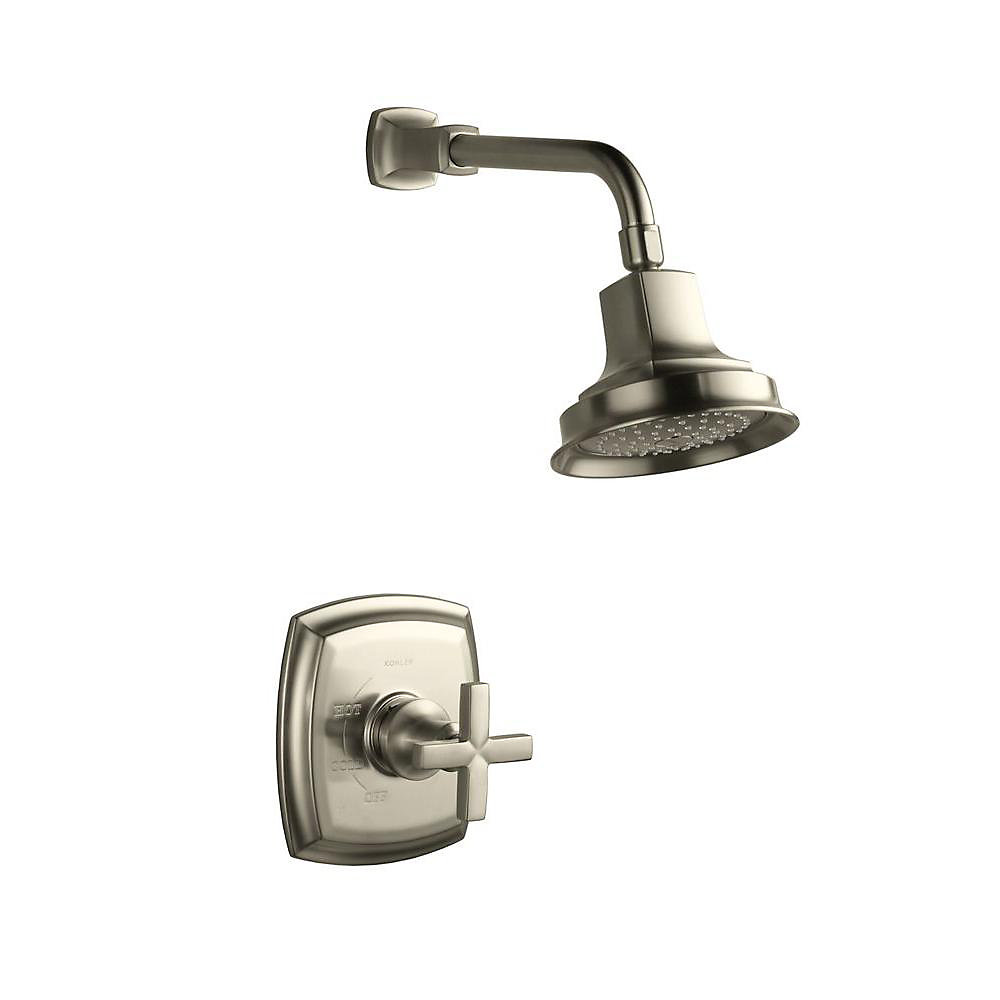 Margaux Rite-Temp Pressure-Balancing Shower Faucet with Cross Handle