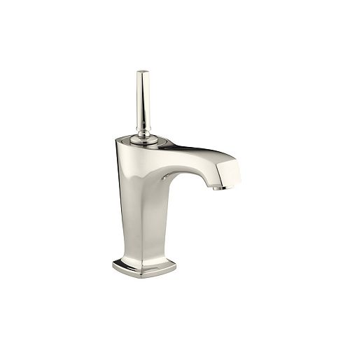 KOHLER Margaux(R) single-hole bathroom sink faucet with lever handle and 5-3/8 inch spout