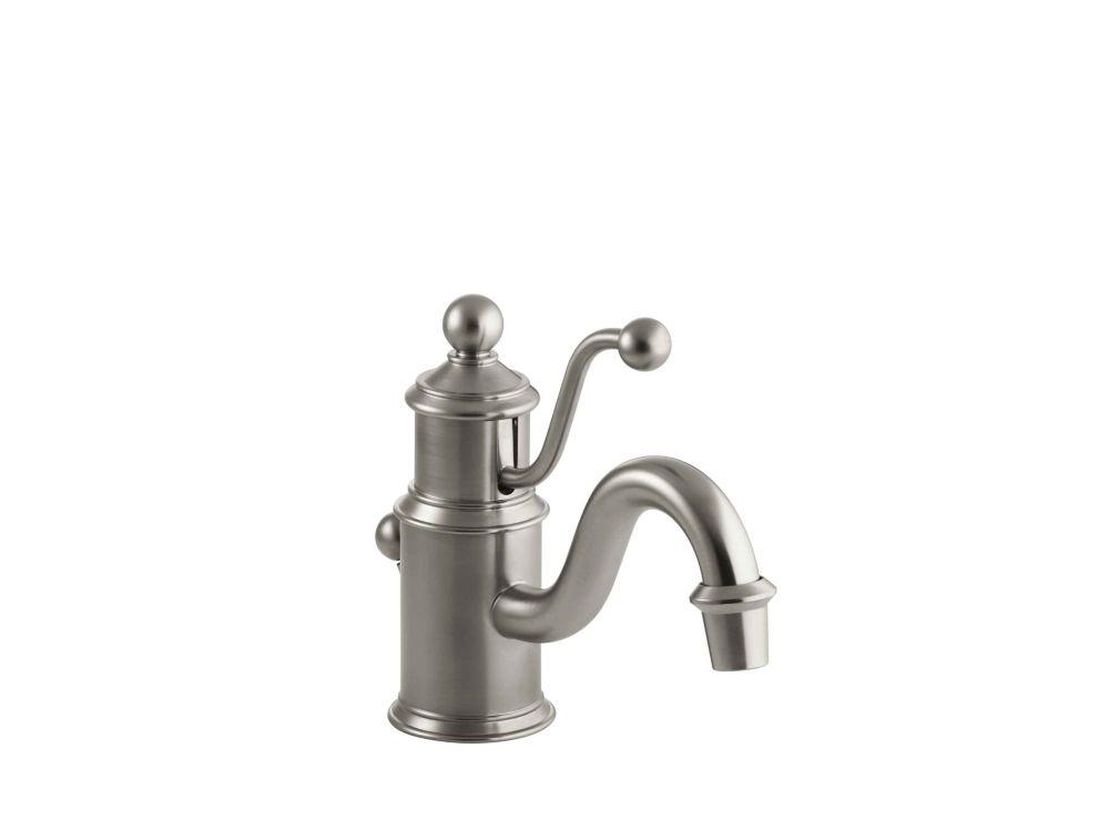 Vigo Noma Bathroom Single Hole Faucet In Antique Rubbed