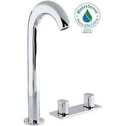 KOHLER Oblo Tall Widespread 2-Handle Bathroom Faucet