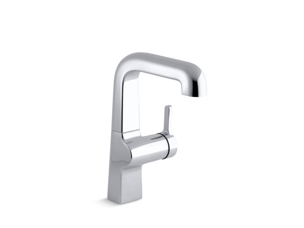 Kohler evoke robinet d 39 vier de cuisine commande unique for Prix d un robinet de cuisine