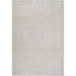 Artistic Weavers Artesia Silver 5 ft. 2-inch x 7 ft. 6-inch Indoor Transitional Rectangular Area Rug