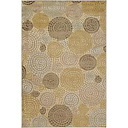Artistic Weavers Carpette d'intérieur, 7 pi 6 po x 10 pi 6 po, style transitionnel, rectangulaire, vert Atherton