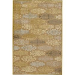 Artistic Weavers Carpette d'intérieur, 7 pi 6 po x 10 pi 6 po, style transitionnel, rectangulaire, havane Avalon