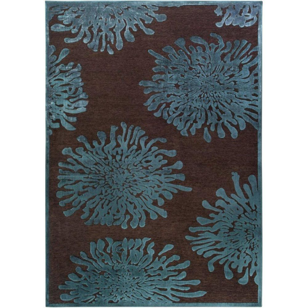 Artistic Weavers Banning Brown 5 ft. 2-inch x 7 ft. 6-inch Indoor Transitional Rectangular Area Rug