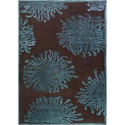 Artistic Weavers Carpette d'intérieur, 7 pi 6 po x 10 pi 6 po, style transitionnel, rectangulaire, brun Banning