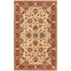 Artistic Weavers Carpette d'intérieur, 12 pi x 15 pi, style traditionnel, rectangulaire, havane Belmont