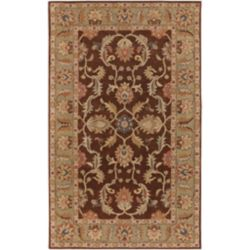 Artistic Weavers Brawley Brown 4 ft. x 6 ft. Indoor Traditional Rectangular Area Rug