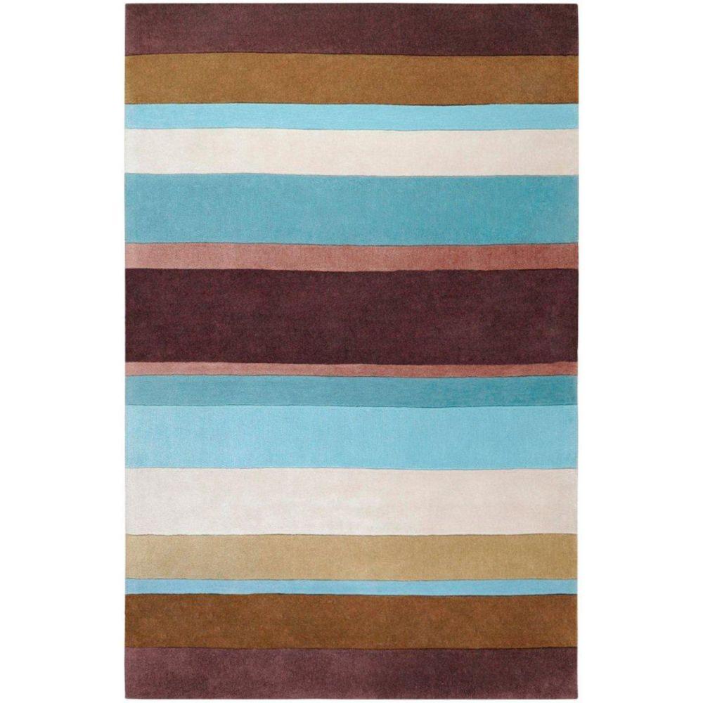 Maclas Chocolate Polyester 9 Feet x 13 Feet Area Rug
