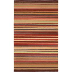 Artistic Weavers Valanjou Red 3 ft. 3-inch x 5 ft. 3-inch Indoor Contemporary Rectangular Area Rug