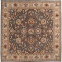 Artistic Weavers Carpette d'intérieur, 8 pi x 8 pi, style traditionnel, carrée, havane Berkeley
