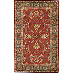 Artistic Weavers Bradbury Red 12 ft. x 15 ft. Indoor Traditional Rectangular Area Rug