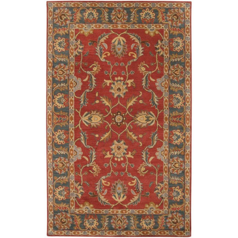 Bradbury Rust Red Wool  - 12 Ft. x 15 Ft. Area Rug