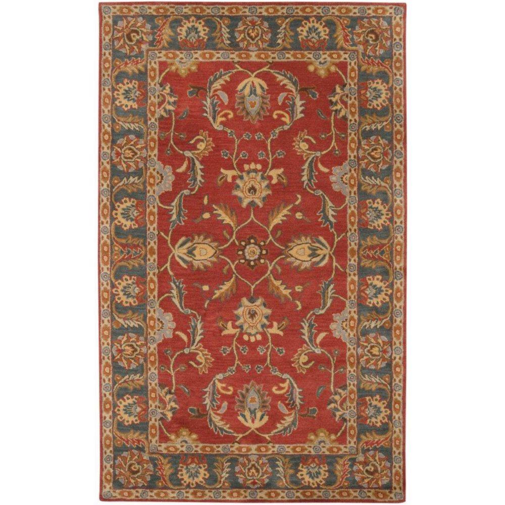 Artistic Weavers Bradbury Red 12 ft. x 15 ft. Indoor Traditional Rectangular Area Rug