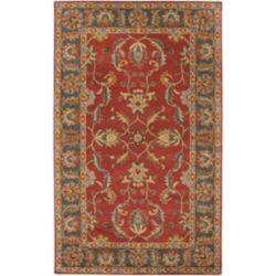 Artistic Weavers Carpette d'intérieur, 5 pi x 8 pi, style traditionnel, rectangulaire, rouge Bradbury