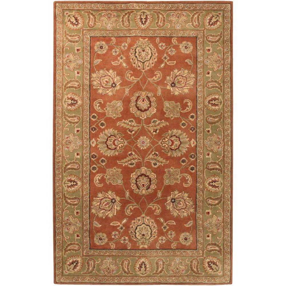 Artistic Weavers Pamier Red 2 ft. x 3 ft. Indoor Traditional Rectangular Accent Rug