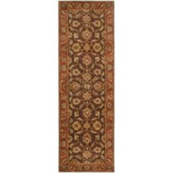Artistic Weavers Cabris Brown 3 ft. x 12 ft. Indoor Traditional Runner