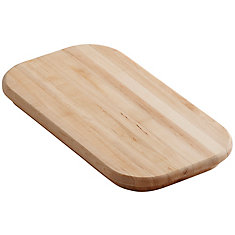 Staccato Hardwood Cutting Board, For Use With Staccato Double Equal Sink