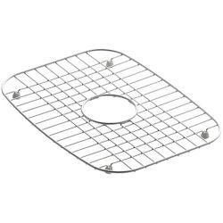KOHLER Support d'evier en acier inoxydable, 12 1/4 x 16 1/2 po pour eviers de cuisine Undertone et Verse
