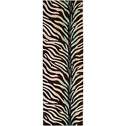 Artistic Weavers Jacou Brown 2 ft. 6-inch x 8 ft. Indoor Transitional Runner