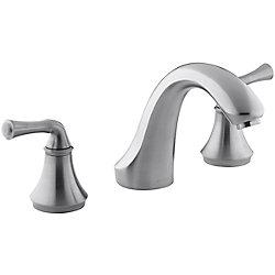KOHLER Robinetterie de baignoire traditionnelle Forte, montage en surface, pour robinet a haut debit, robinet non inclus