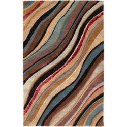 Artistic Weavers Alameda Brown 5 ft. x 8 ft. Indoor Contemporary Rectangular Area Rug