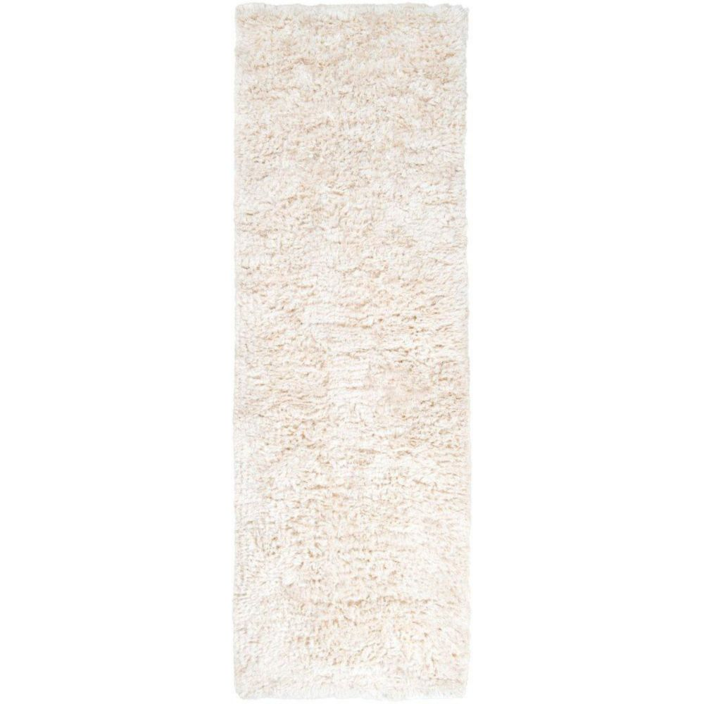 Albany Ivory New Zealand Wool / Viscose 2 Ft. 6 In. x 8 Ft. Runner