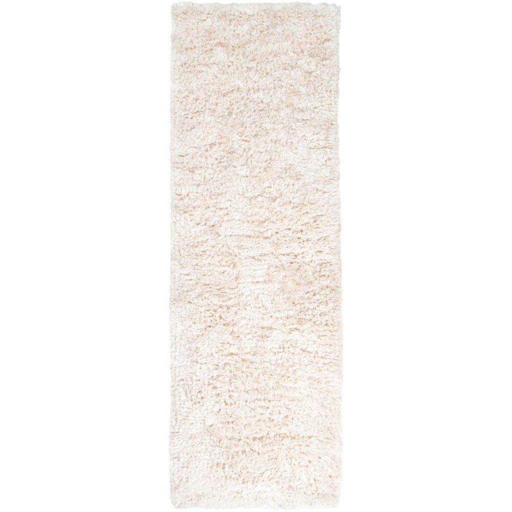 Artistic Weavers Albany Off-White 2 ft. 6-inch x 8 ft. Indoor Shag Runner