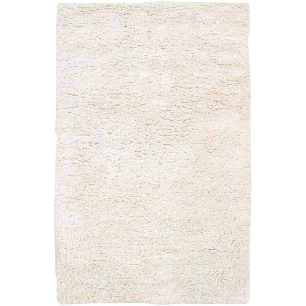 Albany Ivory New Zealand Wool / Viscose 5 Ft. x 8 Ft. Area Rug