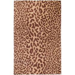 Artistic Weavers Carpette, 10 pi x 14 pi, style transitionnel, rectangulaire, brun Alhambra
