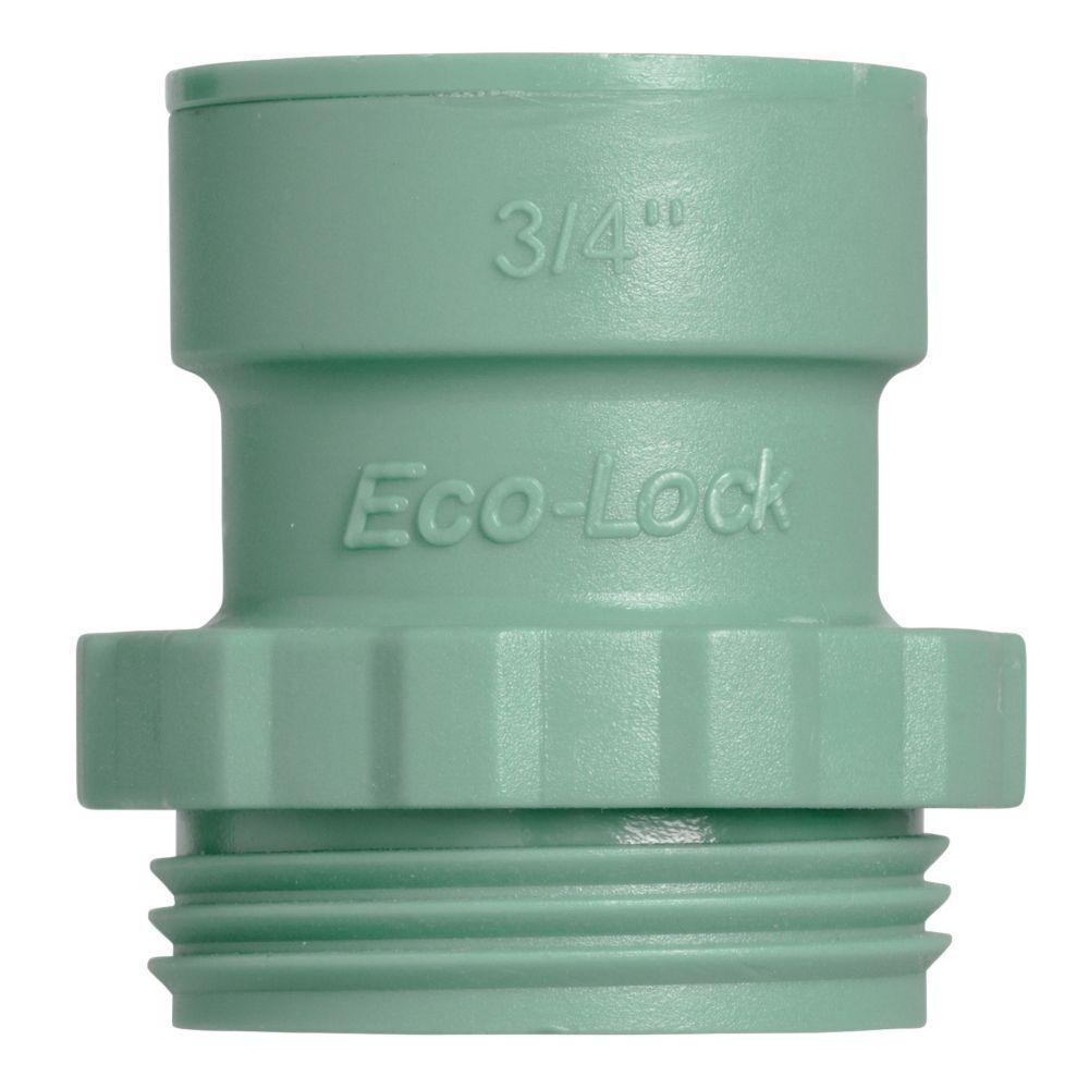 3/4 Inch Eco-Lock x MBT Trans Adapt