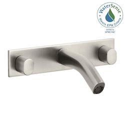 KOHLER Oblo Wall-Mount Bathroom Faucet with Valve