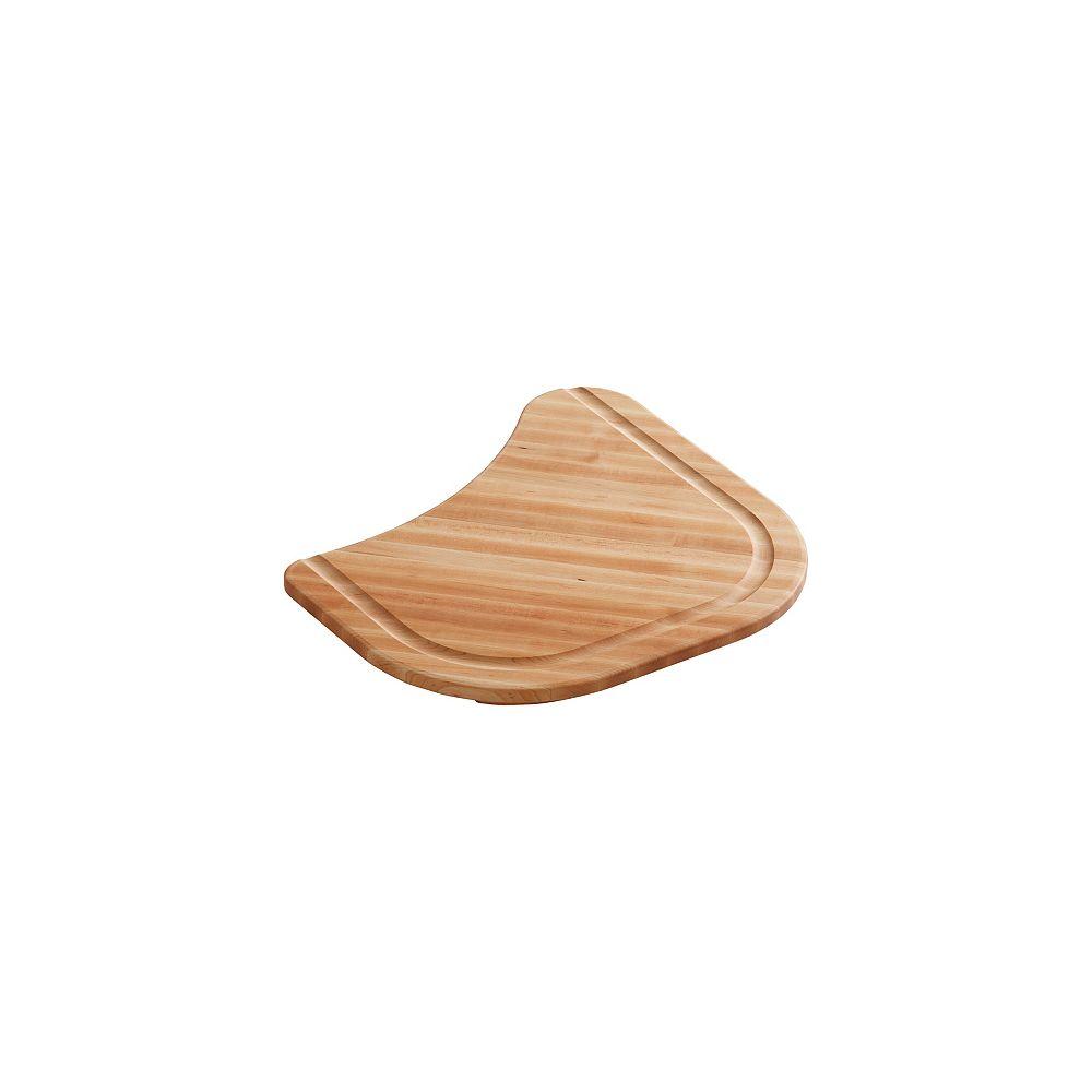 KOHLER Hardwood Cutting Board Fits Undertone Kitchen Sinks